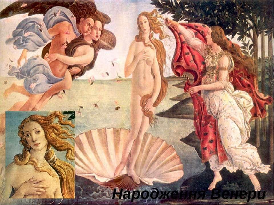 Народження Венери