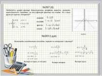 №269 (г,д,е) №267 (б) Функція ні парна, ні непарна Функція непарна Функція па...