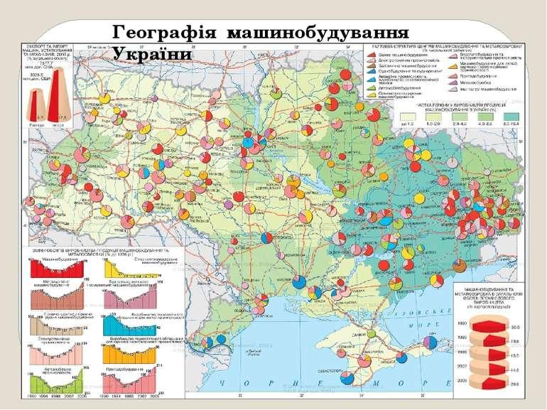 Географія машинобудування України
