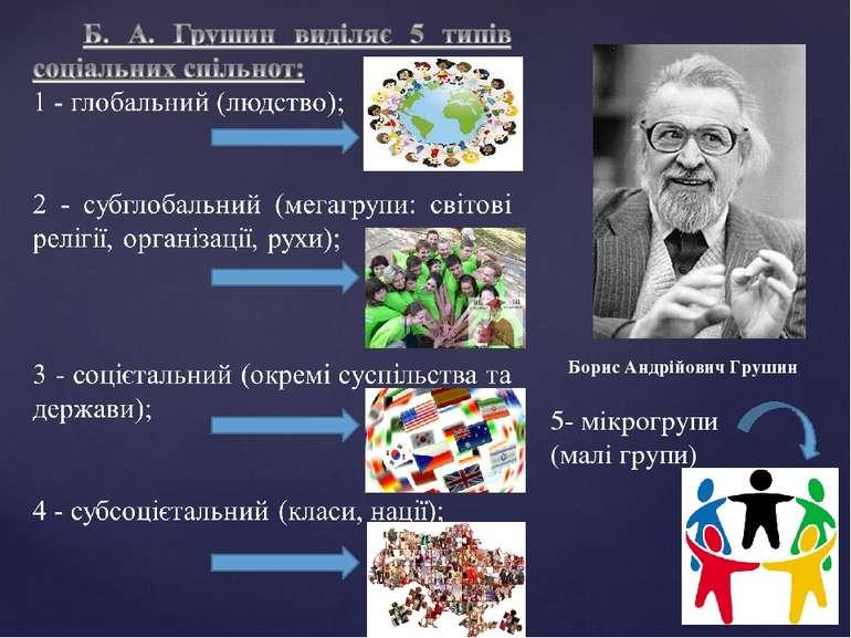 Борис Андрійович Грушин 5- мікрогрупи (малі групи)