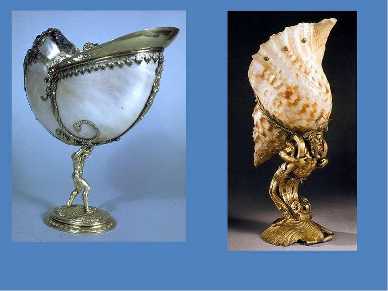 Ендріс Деген молодший. Келих з морською мушлею і тритоном. 1580 р. Келих з на...