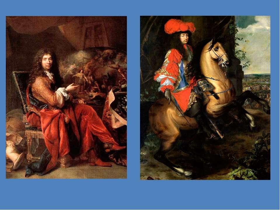Шарль Лебрен Кінний портрет Людовика XIV Портрет Шарля Лебрена роботи художни...