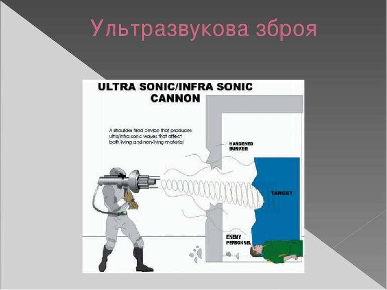 Ультразвукова зброя