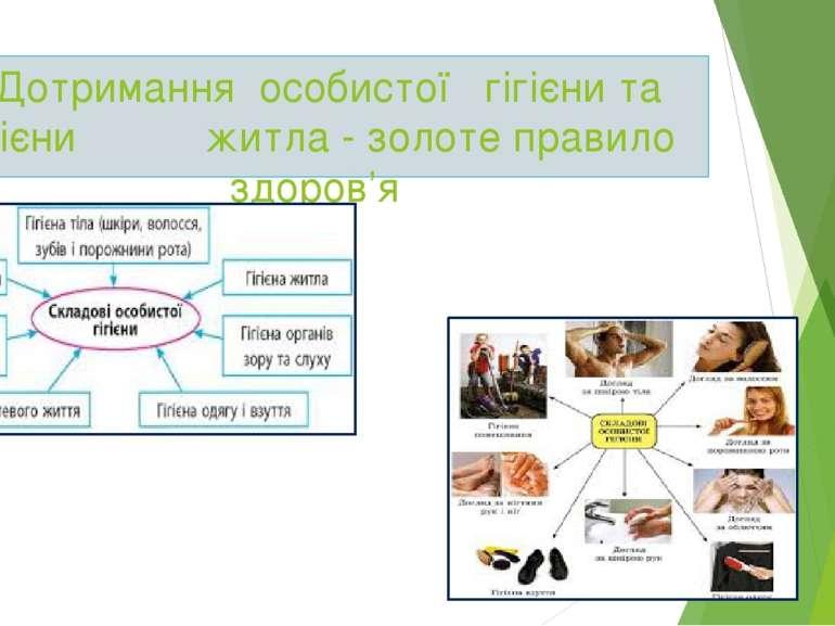 4.Дотримання особистої гігієни та гігієни житла - золоте правило здоров'я