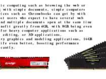 For basic computing such as browsing the web or working with simple documents...