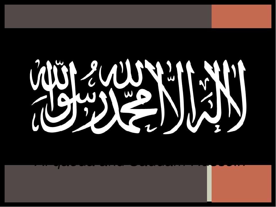 Al qaeda and Saddam Hussein