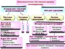 Рентгенологічне обстеження органів сечовиділення Оглядова рентгенографія орга...