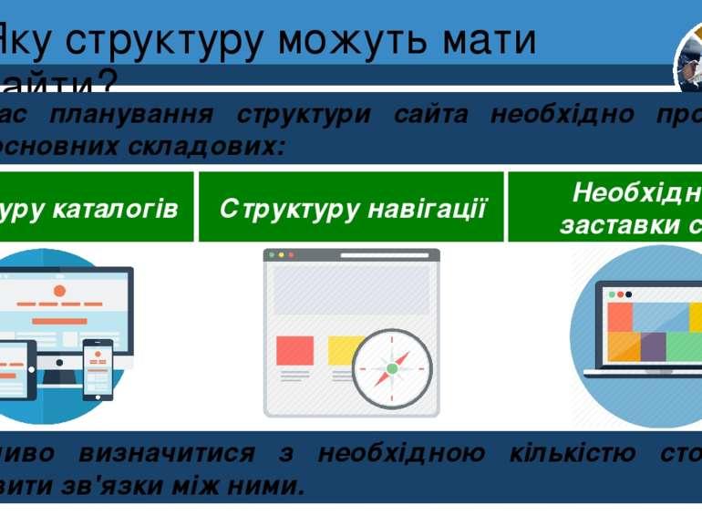 Яку структуру можуть мати сайти? Розділ 1 § 4 Підчас планування структури сай...