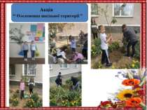 """Акція """" Озеленення шкільної території """""""