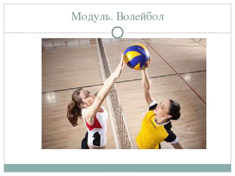 Модуль. Волейбол
