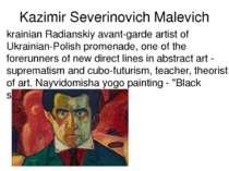 Kazimir Severinovich Malevich krainian Radianskiy avant-garde artist of Ukrai...