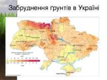 Забруднення ґрунтів в Україні