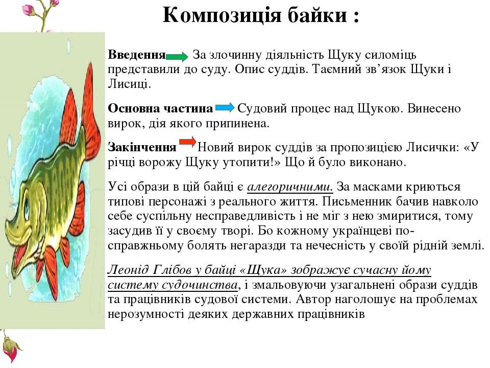 Композиція байки : Введення За злочинну діяльність Щуку силоміць представили ...