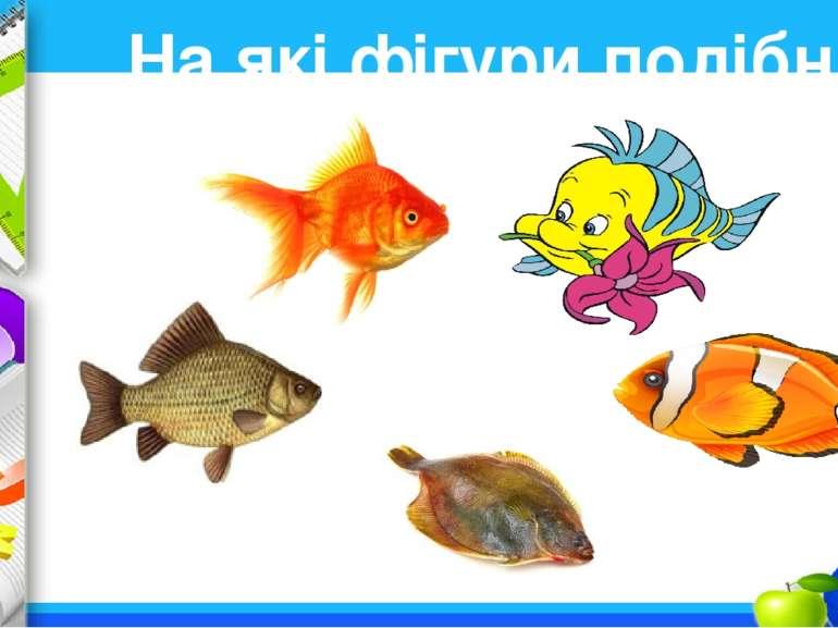 На які фігури подібні рибки? ProPowerPoint.Ru