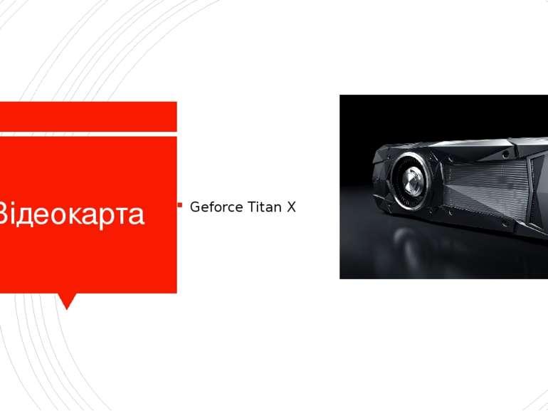 Відеокарта Geforce Titan X