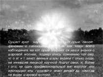 Существуют научные теории, которые сводят феномен к галлюцинациям, так как ча...