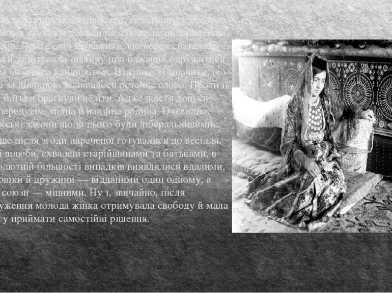 Кримськотатарським дівчатам, вихованим у суворих правилах етикету, доводилося...
