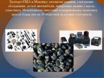 Експорт США в Мексику: механічні машини, електронне обладнання, деталі автомо...
