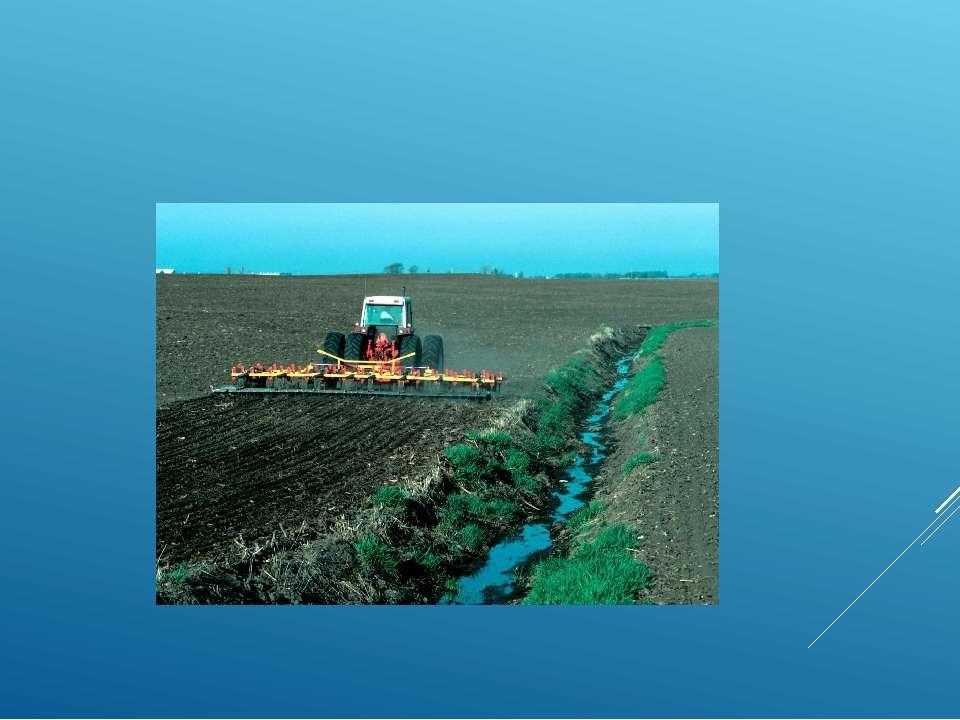 У сільськогосподарському обробітку знаходиться лише 10 % площі держави[8]. Го...
