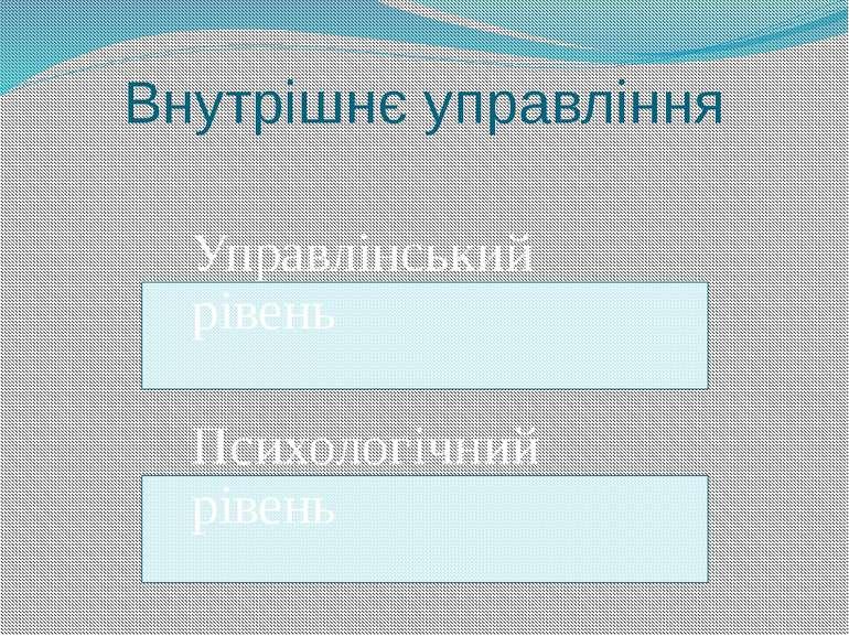 Внутрішнє управління