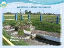 відновлення та облаштування джерел Джерело в селі Мшанець