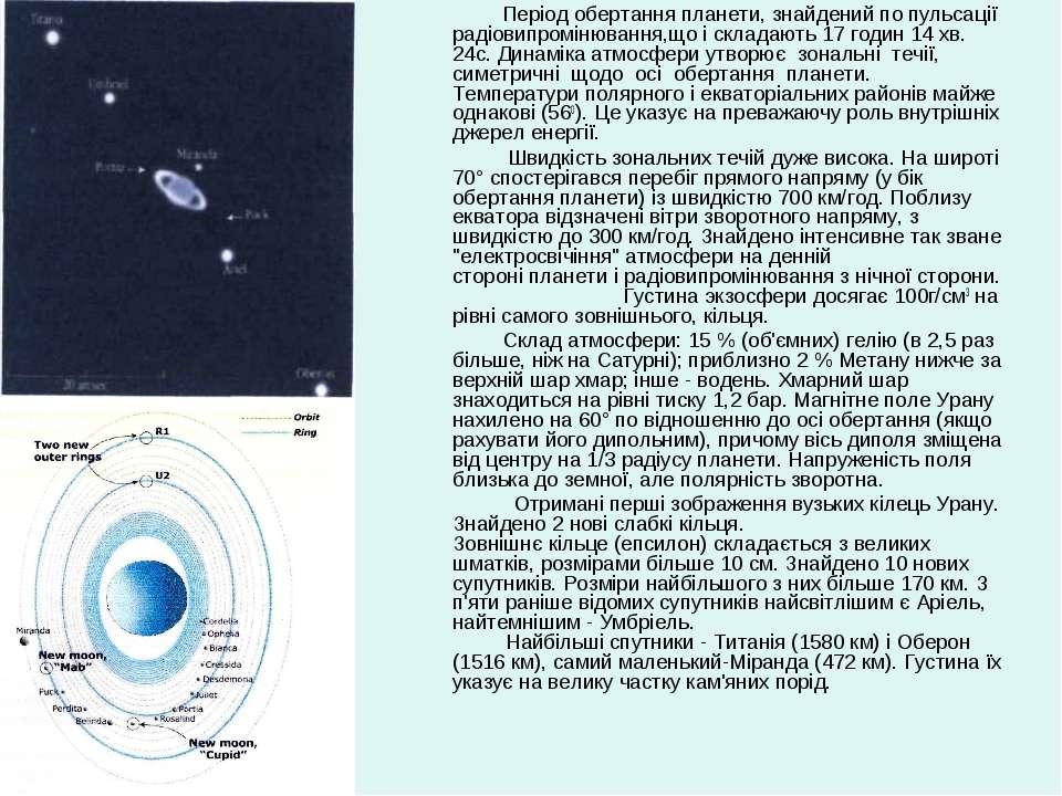 Період обертання планети, знайдений по пульсації радіовипромінювання,що і скл...