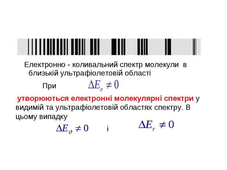 Електронно - коливальний спектр молекули в близькій ультрафіолетовій області ...