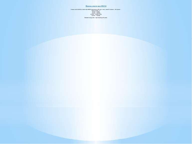 Мережа класів при КВК 54 Станом на 11.01.2012 у класах при КВК 54 навчаються ...