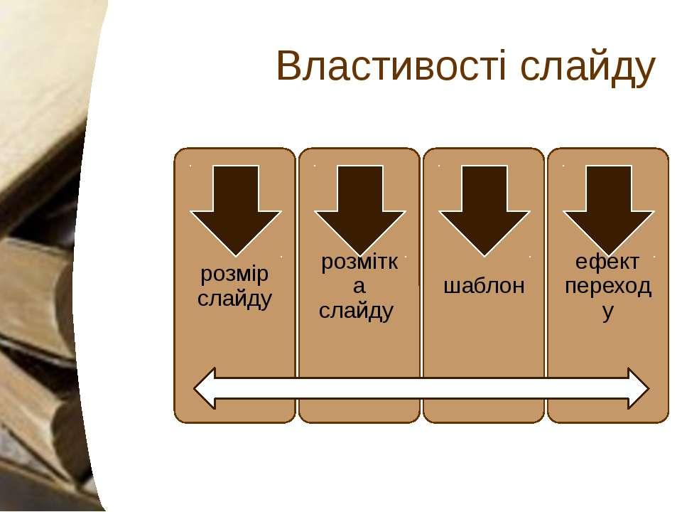 Властивості слайду Приховувати слайди. Зробити в своїй промові навмисне упуще...