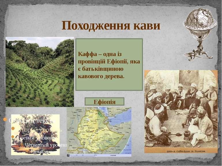 Походження кави Ефіопія Каффа – одна із провінцій Ефіопії, яка є батьківщиною...