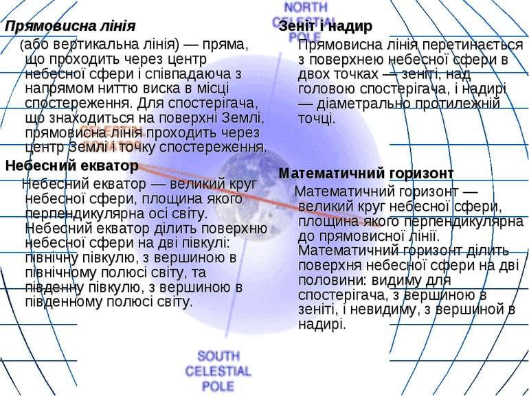 Прямовисна лінія (або вертикальна лінія) — пряма, що проходить через центр не...