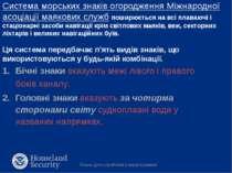 Система морських знаків огородження Міжнародної асоціації маякових служб поши...