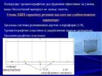 Попереднє хроматографічне дослідження ефективне за умови, якщо біологічний ма...