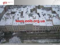 www.eeib.org.ua * Seite * Page * Ima Khrenova-Shymkia GTZ Kiev
