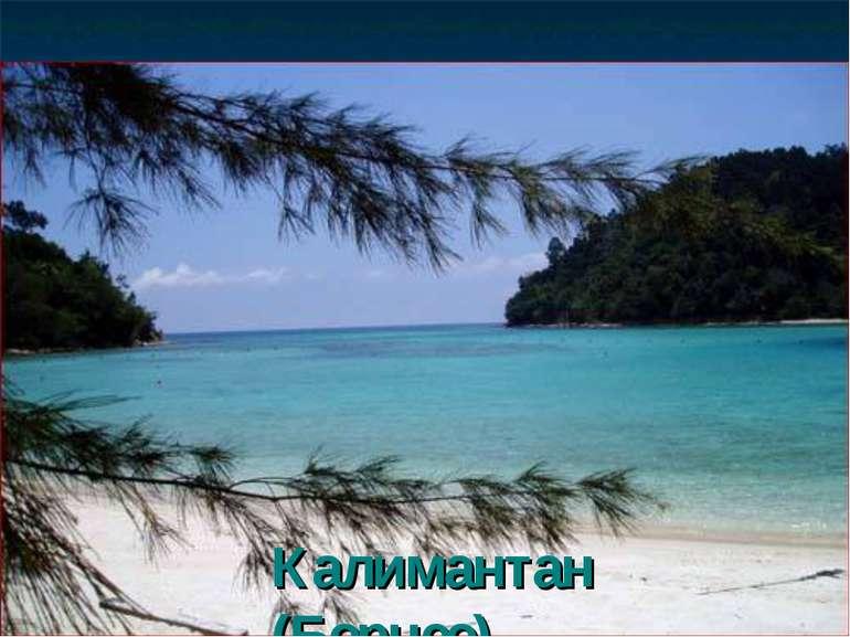 Калимантан (Борнео),