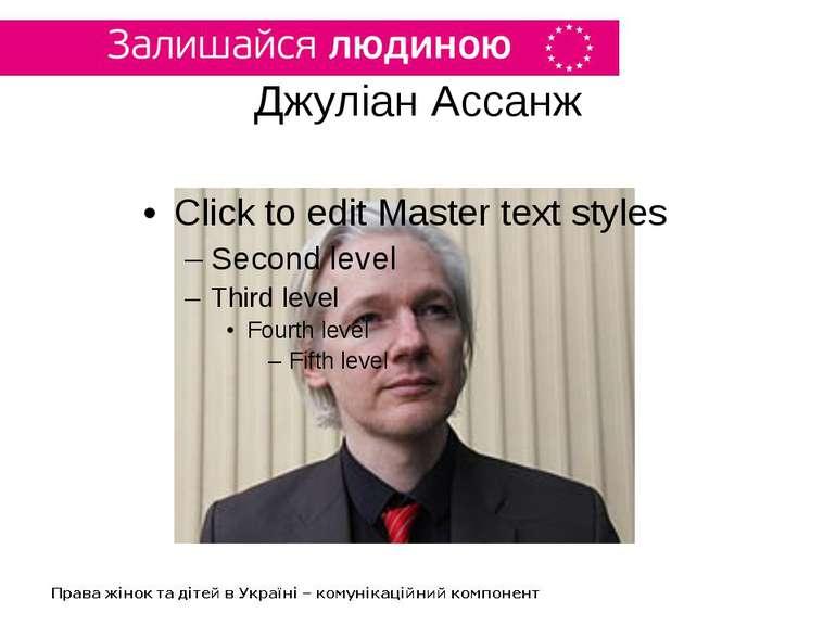 Джуліан Ассанж