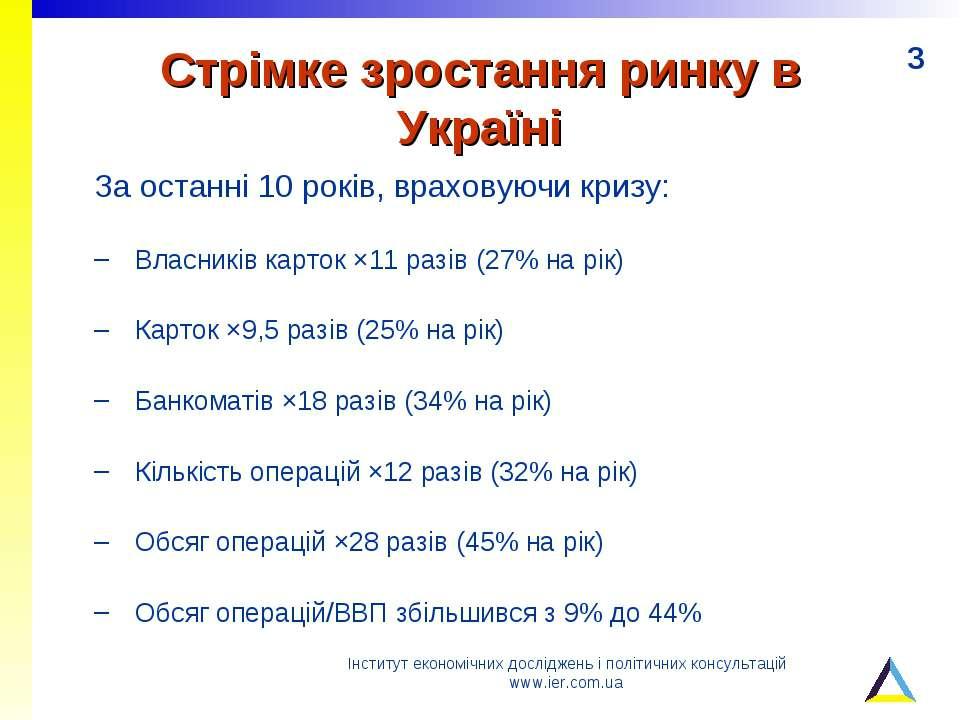 Стрімке зростання ринку в Україні За останні 10 років, враховуючи кризу: Влас...