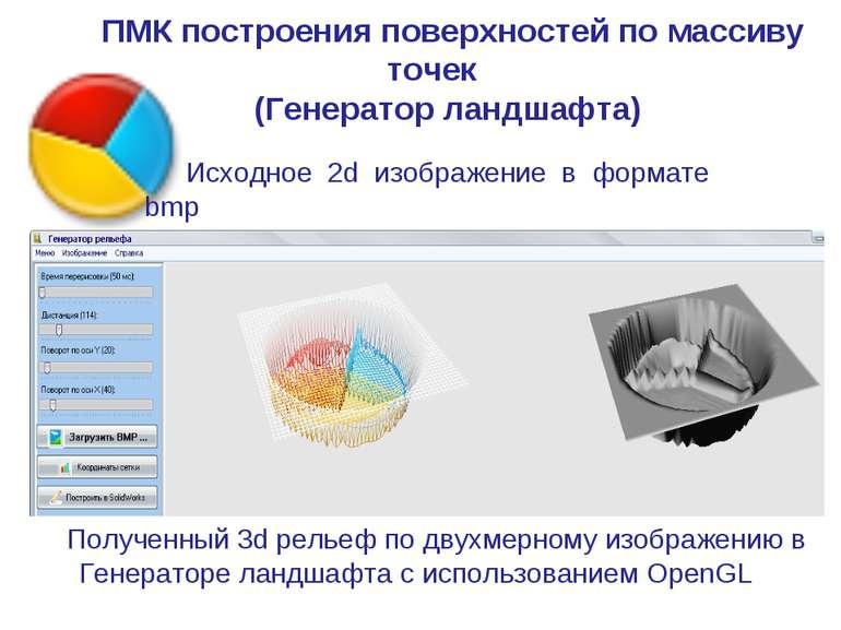Исходное 2d изображение в формате bmp ПМК построения поверхностей по массиву ...