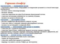 Гормони гіпофізу кортикотропін → наднирникові залози: - спричинює розростання...