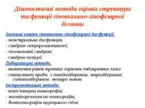 Діагностичні методи оцінки структури та функції гіпоталамо-гіпофізарної ділян...