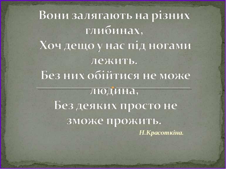 Н.Красоткіна.