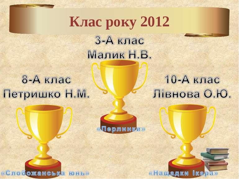 Клас року 2012