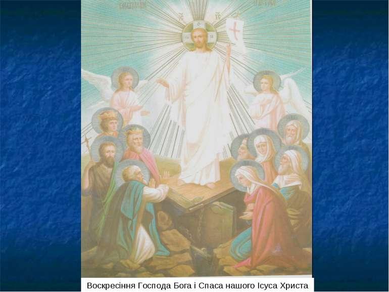 Воскресіння Господа Бога і Спаса нашого Ісуса Христа