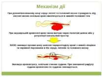 Механізм дії NASG зменшує прояви шоку шляхом перерозподілу крові з нижніх кін...
