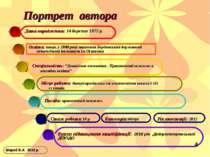 Портрет автора Освіта: вища, у 2000 році закінчила Бердянський державний педа...