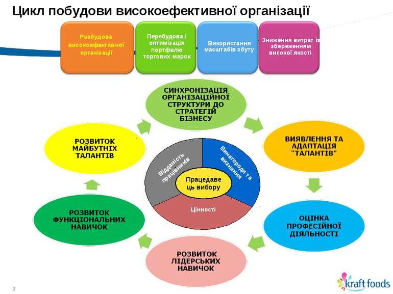 * * Цикл побудови високоефективної організації Розбудова високоефективної орг...