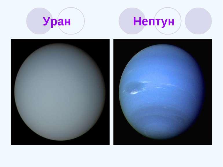 Уран Нептун