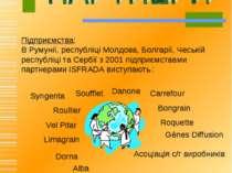 Syngenta Підприємства: В Румунії, республіці Молдова, Болгарії, Чеській рес...