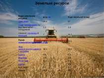 Земельні ресурси Види земельних ресурсів млн.га % до загальної площі Орні зем...