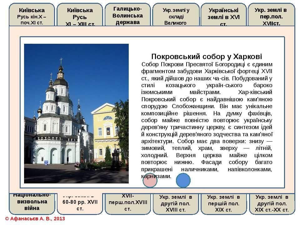Покровський собор у ХарковіСобор Покрови Пресвятої Богородиці є єдиним фрагме...